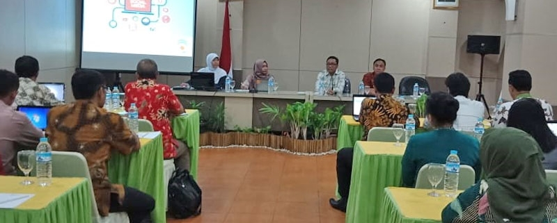 2018 artikel Duaide mengisi pelatihan social media marketing Perusda CMJT Semarang