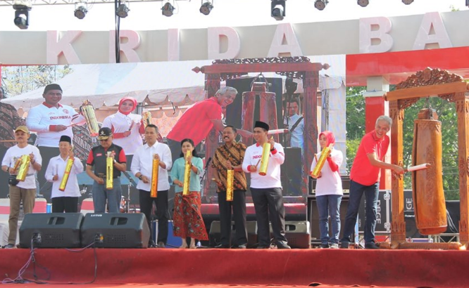 artikel web perusda cmjt - Hari Ulang Tahun ke-69 Provinsi Jawa Tengah