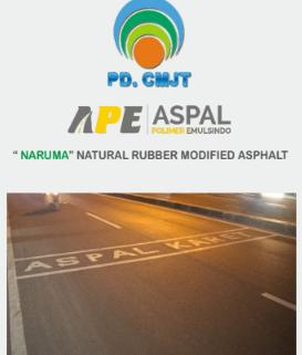 post artikel PDCMJT kerjasama dengan Aspal Polimer Emulsindo dan NARUMA